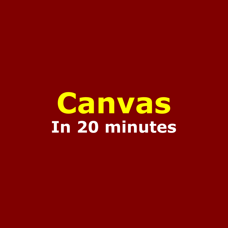 Learn canvas api in 20 minutes - Way of webs